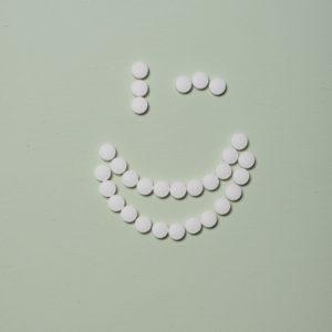Tandenpoets-tabs met Fluor Fles