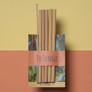 Bamboe rietjes – set van 5