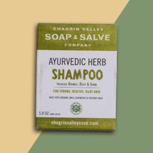 ayurvedic herbs shampoo bar natuurlijk plasticvrij
