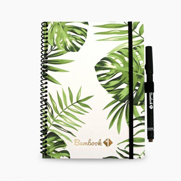 oneindig notitieboek uitwisbaar tropical