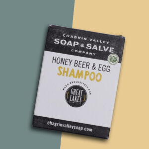 Honey Beer & Egg Shampoo Bar