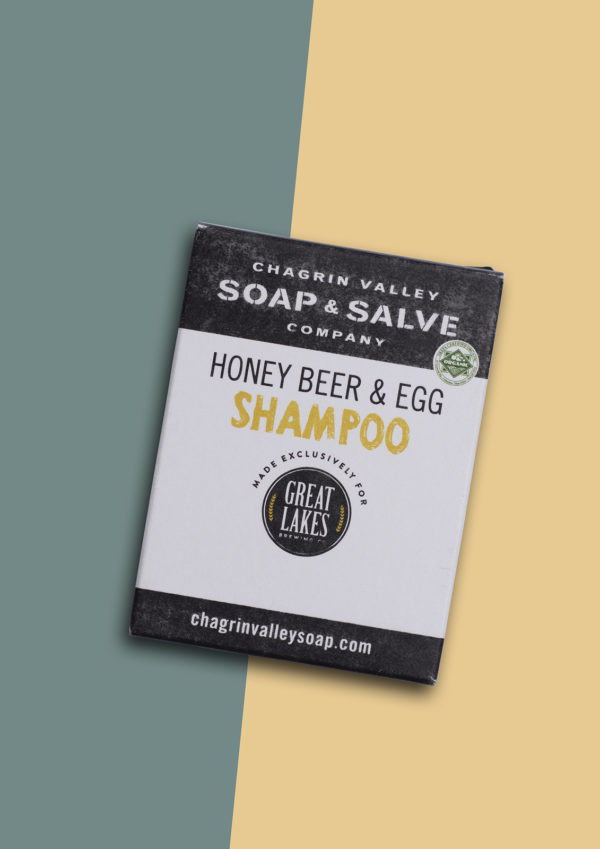Honey Beer and Egg natuurlijke shampoo bar