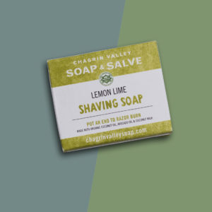 Lemon Lime Shaving Soap