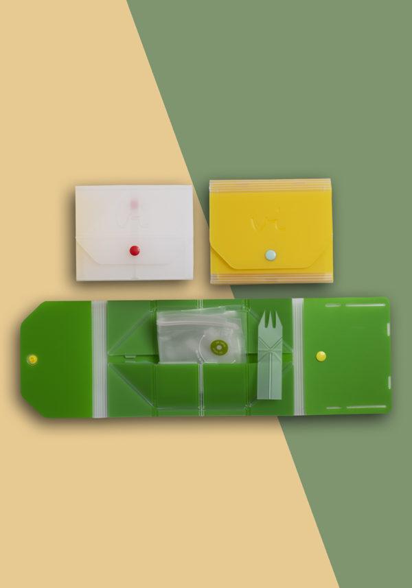 Opvouwbare lunchbox
