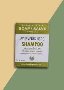Shampoo Bar Ayurvedic Herbs 100% natuurlijk plasticvrij