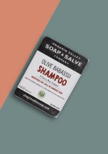 Olive Babassu Solid Shampoo bar 100% Natuurlijk, vegan, cruelty free, plasticvrij