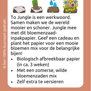 Jungle inpakpapier