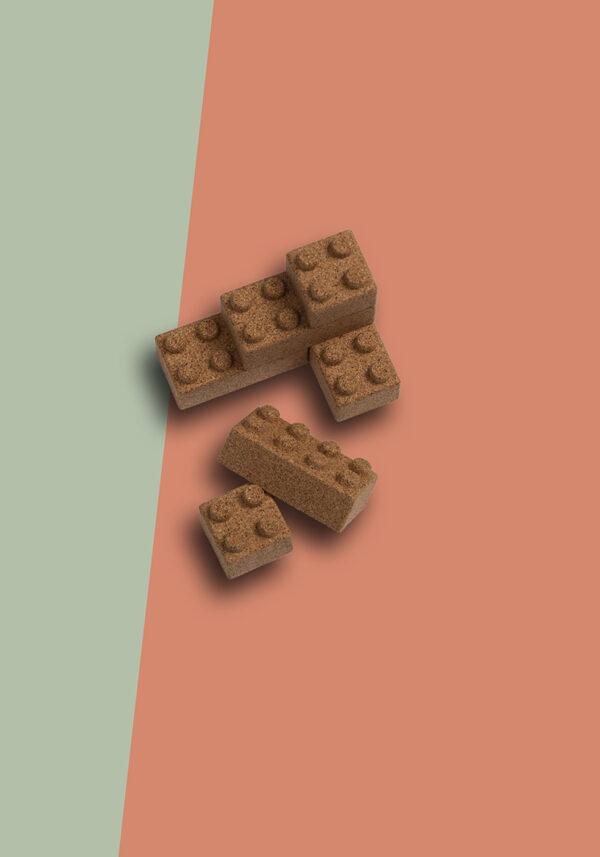 To Jungle Bricks kurk eco speelgoed